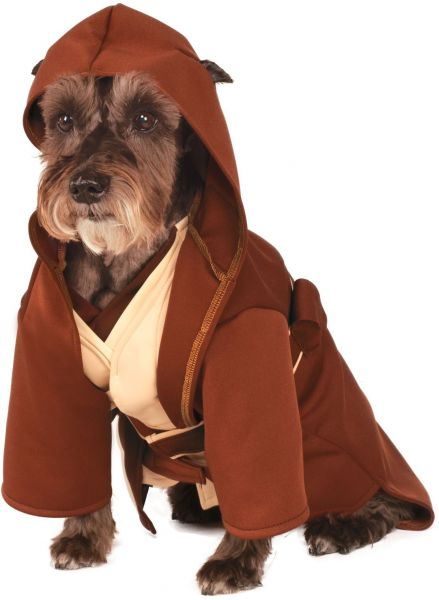Rubie s Star Wars Classic Jedi Robe Pet Costume a1fa4056a