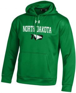 Under Armour NCAA North Dakota Men s Fleece Hoodie 79d06c139