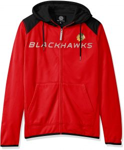 NHL Chicago Blackhawks Men s Superset Full Zip Fleece Hoody f439d660d