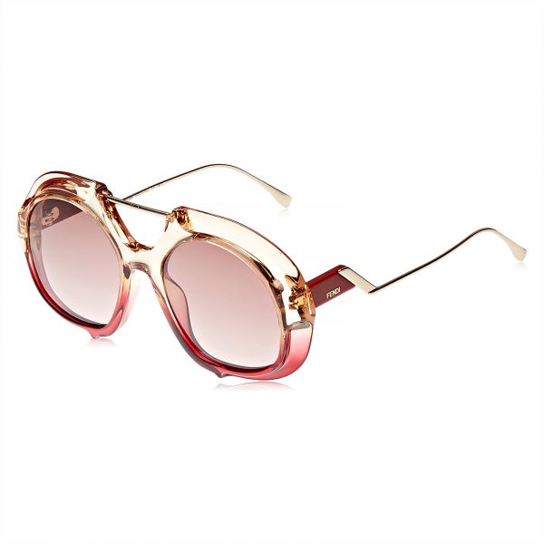 4b4e88de50e Fendi Oversized Sunglasses for Women - Pink lens