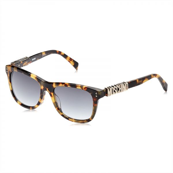 Moschino Wayfarer Sunglasses for Women - Grey Lens, MOS003/S SCL9O
