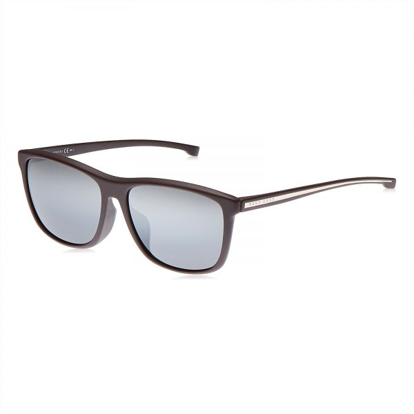 c7253adc5cfd Hugo Boss Wayfarer Sunglasses for Men - Grey lens, BOSS 0898/F/S 0I9CN