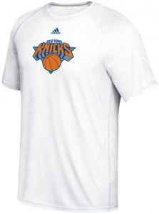 new style 900ec ae1ae NBA New York Knicks Men s Phrase Hat Hook Climalite Ultimate Tee, Large,  White