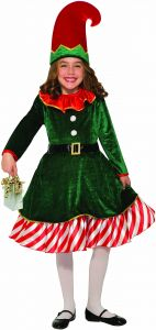 5341359972f Forum Novelties Girls Santa s Lil Elf Child s Costume