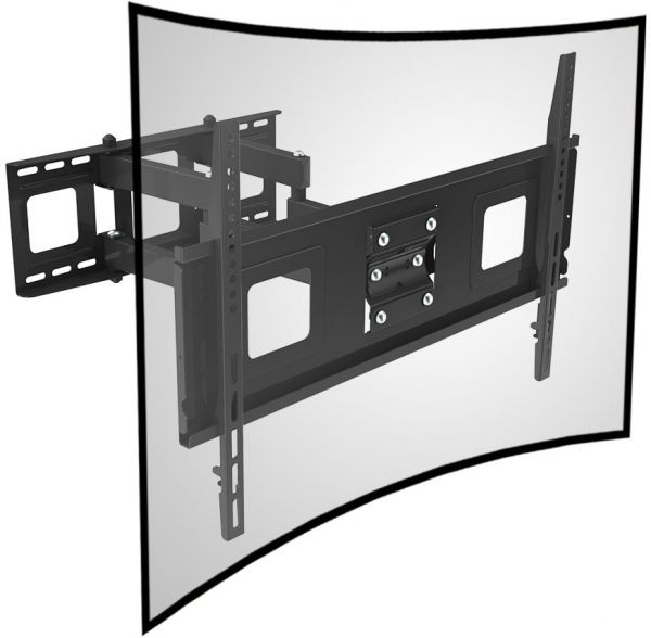 Fleximounts curved tv wall mount bracket 32 65 inch curved - Tv mount wall plate ...