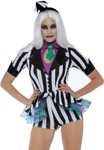 4931843fbfc Leg Avenue 3 PC Womens Beetljuice Costume