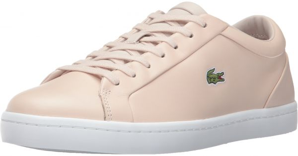 7c5e79aed1a2b1 Lacoste Women s Straightset Lace 317 3 Fashion Sneaker