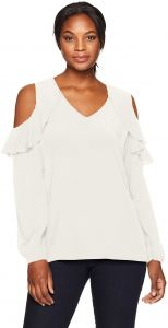 10678a8591b60 Buy astr shoulder ruffled blouse | Ny Collection,Astr The Label,Amy ...