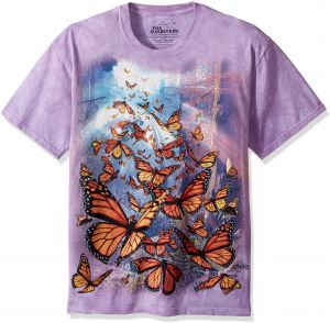 42f92803ad5 The Mountain Monarch Butterflies Adult T-Shirt