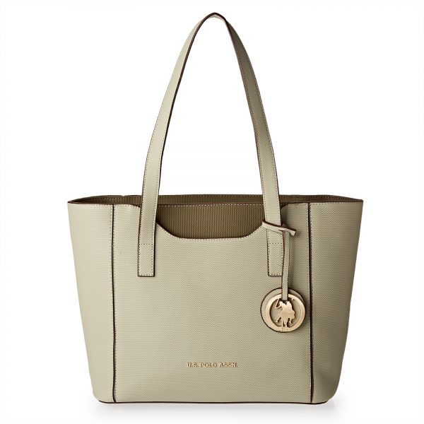 287ab428ef U.S. Polo Assn. Leather Tote Bag for Women - Green