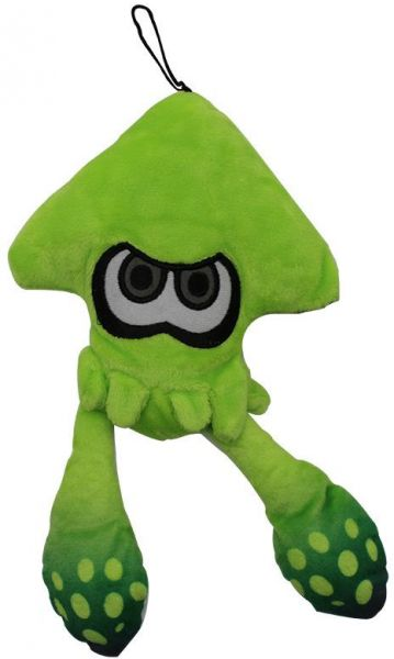 25cm Green Splatoon Jet Warrior Plush Toy Cartoon Anime Cute Squid