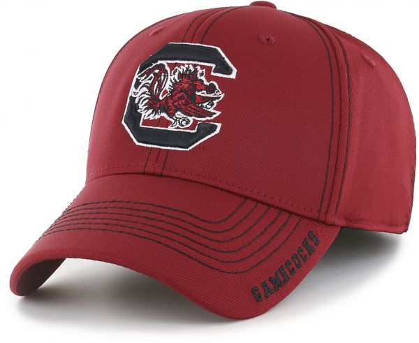 63473264a69 OTS NCAA South Carolina Fighting Gamecocks Adult Start Line Center Stretch  Fit Hat
