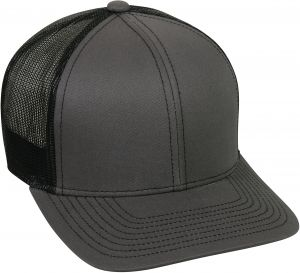 7a3b8ba751593 Buy charcoal richardson precurved trucker cap