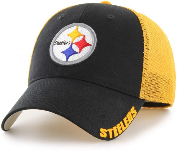 OTS NFL Pittsburgh Steelers Hursh Center Stretch Fit Hat 1f82e69be