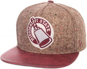 5eb6550e6db Zephyr NCAA Mississippi State Bulldogs Adult Men Legend Heritage Collection  Hat