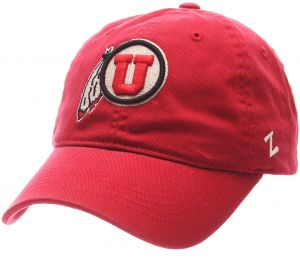 uk availability 719a0 25fd1 Zephyr NCAA Utah Utes Men s Scholarship Relaxed Hat, Adjustable Size, Team  Color