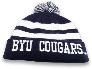 20248fa8ff6f4 The Game NCAA Byu Cougars Knit Roll-Up Beanie