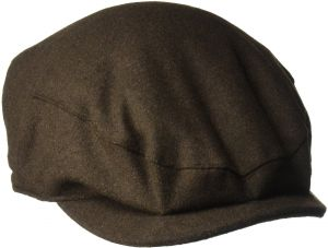 0797d0d5142 Henschel Men s Wool Melton Blend Ivy Hat with Satin Lining