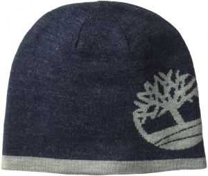 aa8567f10aa Timberland Men s Reversible Knit in Tree Beanie