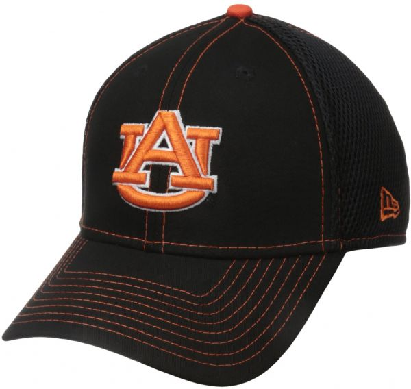 New Era NCAA Auburn Tigers College Crux Line Neo 39THIRTY Stretch Fit Cap 0dbecbf5c