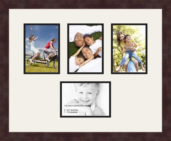Art to Frames Double-Multimat-149-61/89-FRBW26061 Collage Frame ...