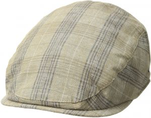 Bailey of Hollywood Men s Chiron Plaid Ivy Cap 87772a43567