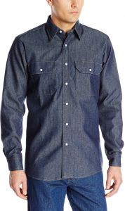 Red Kap Mens Deluxe/Western Style Shirt