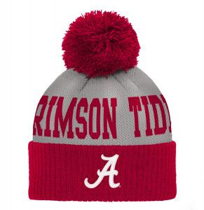 new products 9c43b bef35 Gen 2 NCAA Alabama Crimson Tide Infant Jacquard Cuffed Pom Hat, Infant One  Size, Victory Red