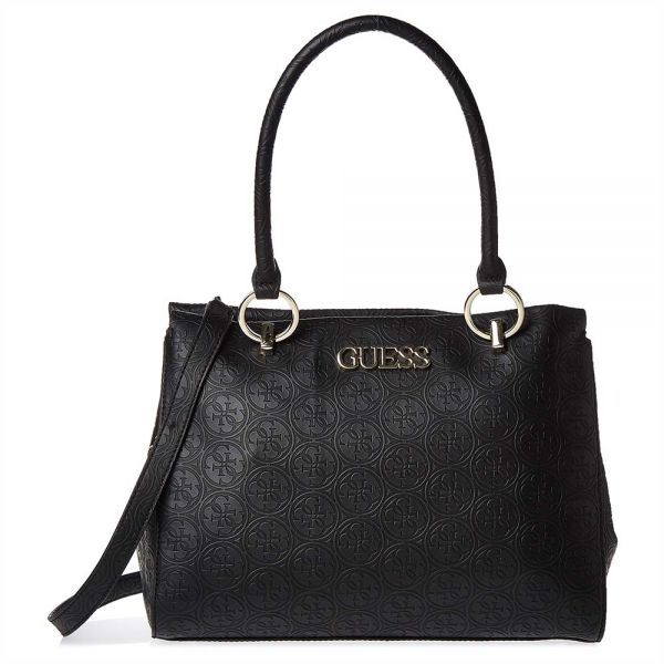 a8c98dd3c8f1 Guess Heritage Pop Large Girlfriend Satchels Bag for Women - Faux Leather