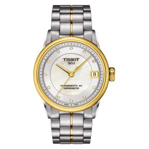 b9fa0e6feb0 Tissot Women s Mother of pearl Dial Stainless Steel Band Automatic Watch -  T086.208.22.116.00