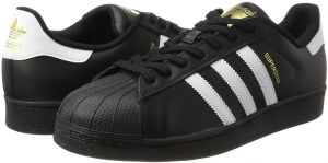 adidas Originals Superstar Foundation Sneaker for Men Black Size 37 13 EU