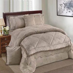 Ming Li 8 Pcs Winter Comforter Set Li King Size Yhps 005 Ksa Souq