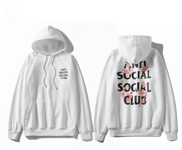 841fbb1400c31 Anti Social Social Club cherry blossom Hoodie Ins Hot Assc Unisex Hooded  Sweatshirt For Men And Women