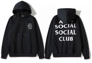 1d2d110ea30b Anti Social Social Club Classic Hoodie Black Assc Ins Hot Unisex Hooded  Sweatshirt For Men And Women