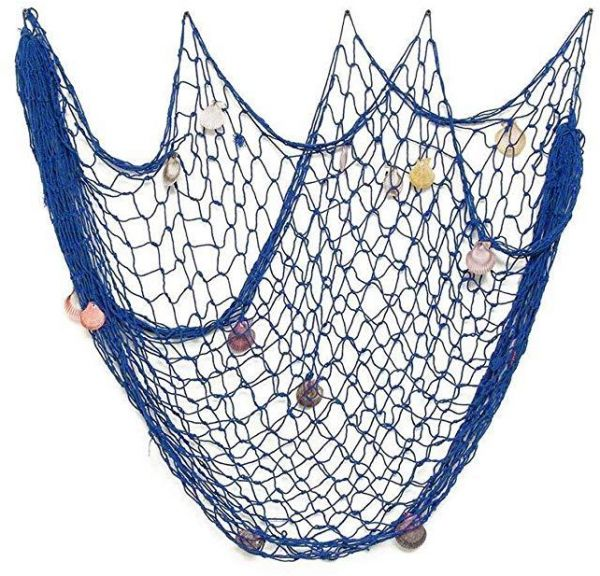 Fish Net Decor Nautical Mediterranean Style Home Wall Decorative