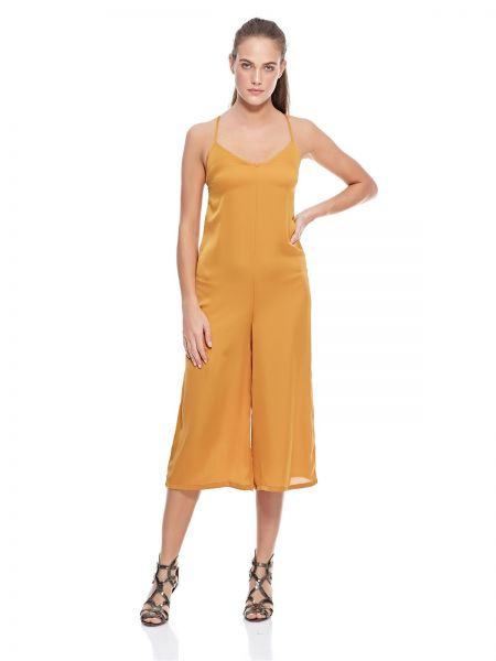 fca63c7264 Bershka Jumpsuit for Women - Mustard