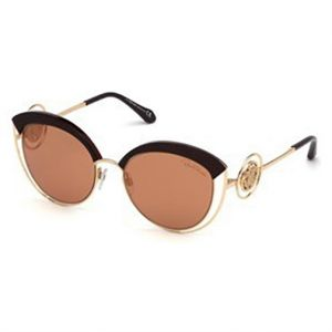 85066dde210 Roberto Cavalli Cat Eye Sunglasses for Women - Brown Lens