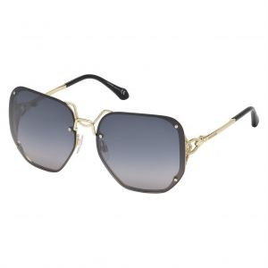 bae4df3c25 Roberto Cavalli Oversized Sunglasses for Women - Grey Lens