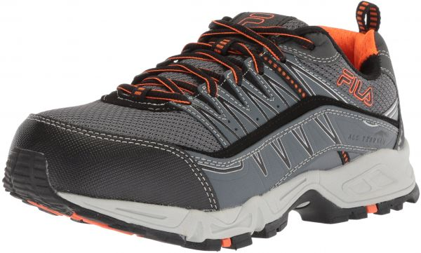 bcc86b7db Fila Men s Memory at Peak Composite Toe Trail Running Shoe ...
