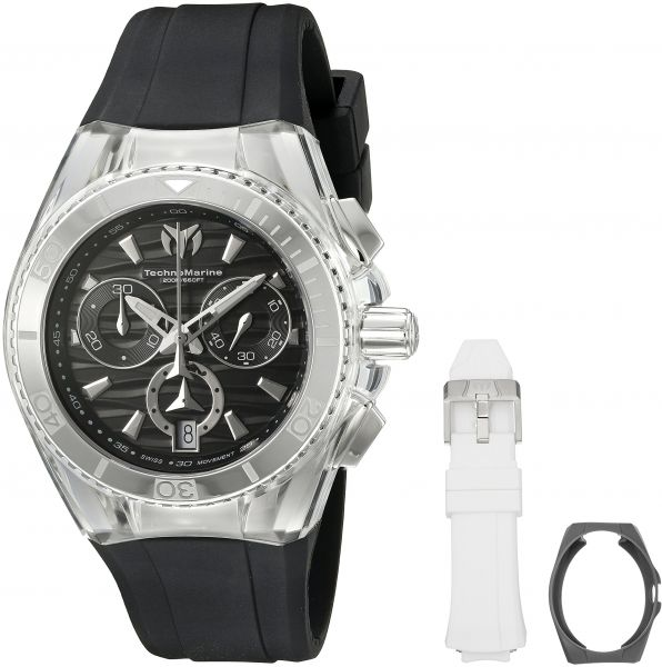 0db3105a6c9f Technomarine  Cruise Original  Swiss Quartz Stainless Steel Casual Watch  (Model  TM-115051)