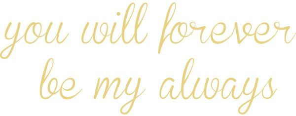 Wallpops Dwpq2531 Forever My Always Wall Quote Neutral Souq Uae