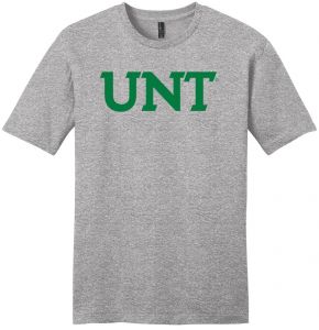 outlet store 47984 1f342 NCAA North Texas Mean Green Arch Soft Style T-Shirt, Light Heather Grey,  Small