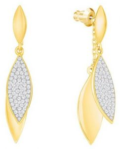 35d2ea2f8 Shop gold earrings at Vera Perla,Kyra,Clear Love | UAE | Souq.com