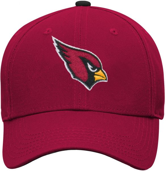 NFL by Outerstuff NFL Arizona Cardinals Youth Boys Basic Structured  Adjustable Hat Cardinal 274daba41850