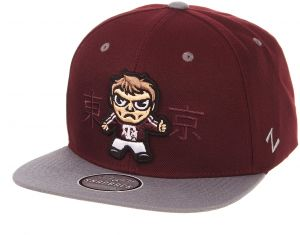 check out 9574b 696b5 Zephyr NCAA Texas A M Aggies Mens Harajukuharajuku Snapback Hat -  Tokyodachi Collection, Grey, Adjustable