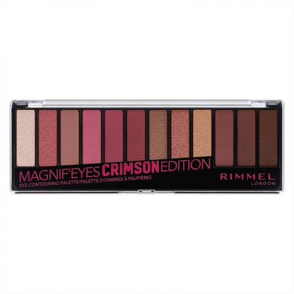 Rimmel London Magnif'Eyes Eye Contouring Palette - 007 Crimson Edition