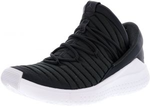 ddbc7775ad06 Nike Men s Jordan Flight Luxe Anthracite   Black-White Ankle-High Fabric  Basketball Shoe - 10.5M