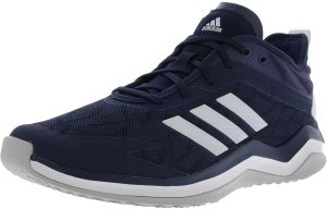 Adidas Men s Speed Trainer 4 Collegiate Navy   Crystal White Dark Blue  Ankle-High Baseball Shoe - 10.5M d9e7cfd22