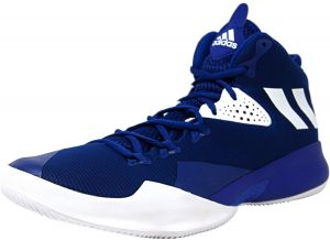 new concept d23c0 e3efb Adidas Men s Dual Threat 2017 Collegiate Royal   Footwear White High-Top  Basketball Shoe - 7.5M