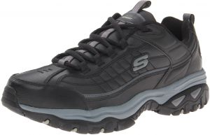 bf00db04 Skechers Men's Energy Afterburn Lace-Up Sneaker,Black/Gray,10.5 XW US. by  Skechers, Athletic Shoes -